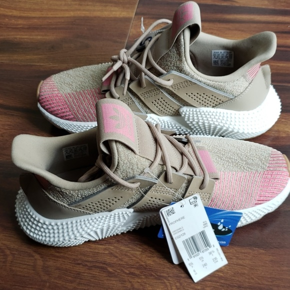 adidas Shoes | Prophere Pink And Tan Size 6 Running Shoe